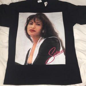 Selena Quintanilla Black T-shirt